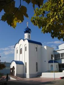 Храм вмч. и целителя Пантелеимона г. Кемерово